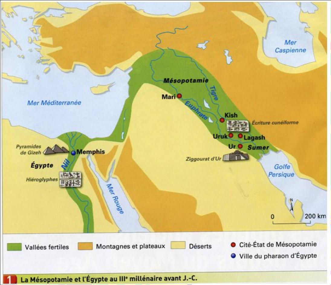 iiie-millenaire-carte dans 4e HISTOIRE
