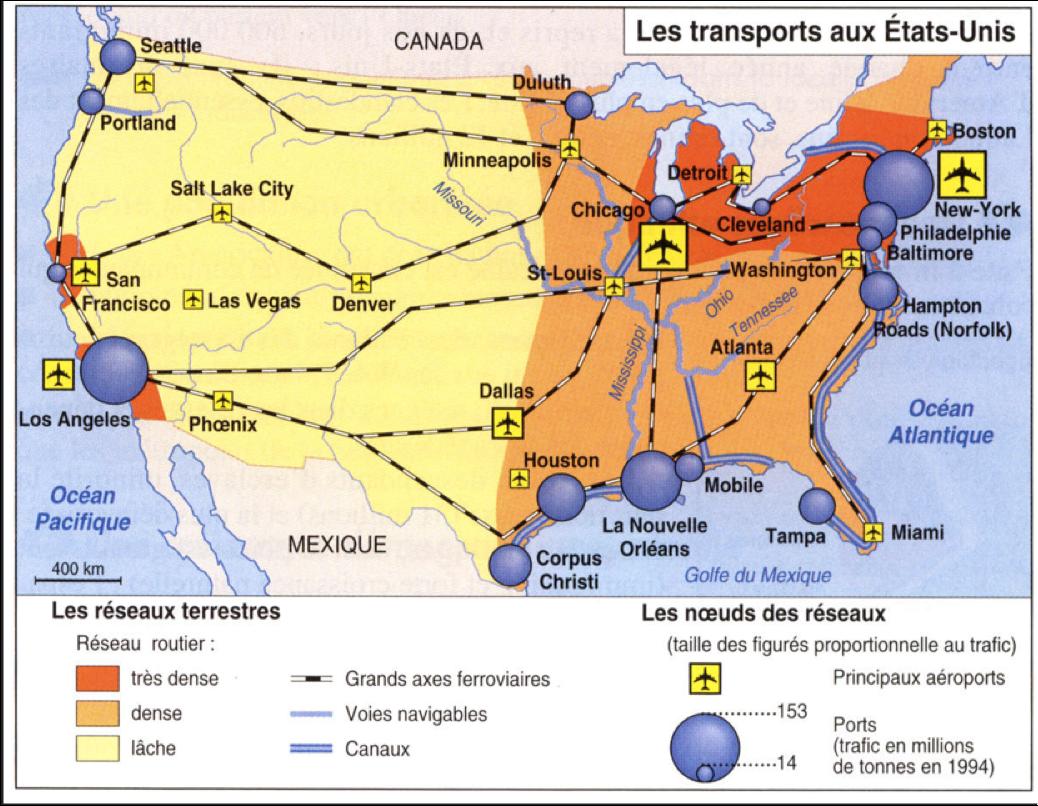 E-U transports